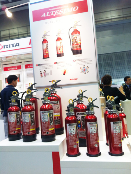 Exhibition Booth Equipment : Sapporo international fire and safety exhibition event