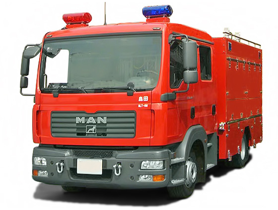 Mlt 8m Mr Series Lighting Tower Vehicle Rescue Truck
