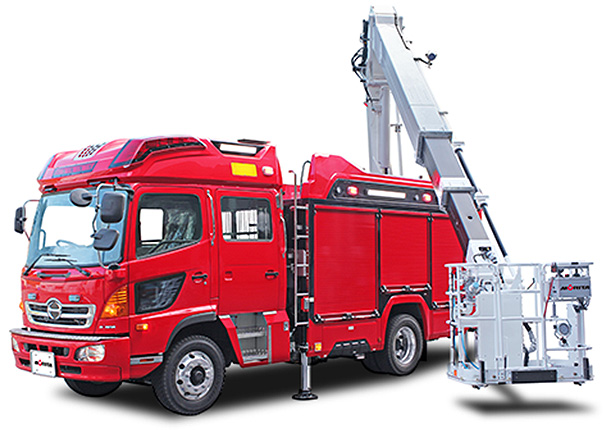 fire trucks products morita group